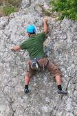 Climbing — Zdjęcie stockowe