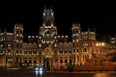 The new Townhall, Madrid — Stock Photo