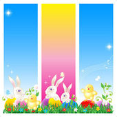Easter card, banners or poster background — Stock Vector