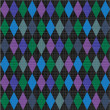 Royalty-Free Stock Vector Image: Seamless harlequin pattern fabric background