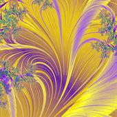 Stylish paradisial plants — Stock Photo