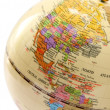 Globe with the image of the USA Canada and Mexico — Stock Photo #6122132