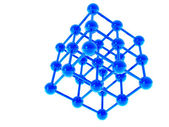 A molecular structure — Stock Photo