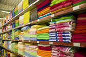 Varicoloured towels — Stock Photo