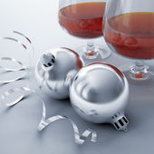 Christmas balls, — Stock Photo