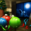 Christmas night — Stock Photo
