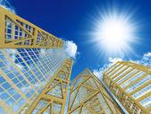 高いモダンな高層ビル — ストック写真