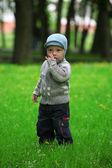 Boy is dressed — Foto de Stock