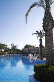 Luxury tourist resort — Stock Photo
