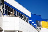 Facade of modern building — Stock Photo