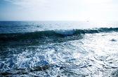 Blue waves — Stock Photo