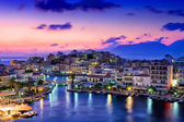 Agios Nikolaos. — Stock Photo
