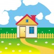 Royalty-Free Stock Vector Image: Cottage