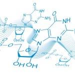 Vector chemical formula — Stock Vector