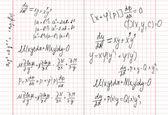 Mathematics — Stock Vector
