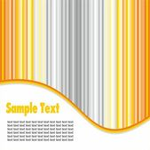Template with strips — Stock Vector