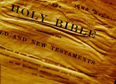 Holy Bible — Stock fotografie