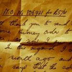 Vintage Letter — Stock Photo #6739990