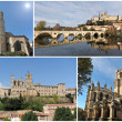 Churches of Beziers — Stock Photo