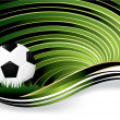 Royalty-Free Stock Vector Image: Soccer background