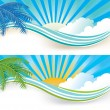 Summer banners — Stock Vector #5869211