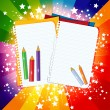 Royalty-Free Stock Vektorfiler: Back to School background