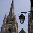 Cathédrale Sainte-Marie, Bayonne - Stock Photo