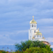 Golden dome of the Orthodox church — Stock Photo #6188612