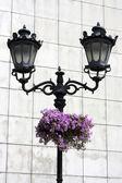 Old fashioned lantern — Stock Photo