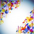 Bright abstract background — Stock Vector