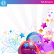 Colorful bubbles — Vector de stock #6127682