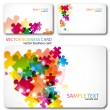 Modern Business-Card Set — Stock Vector #6127700