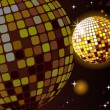Celebratory disco ball - Image vectorielle