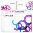 Modern Business-Card Set - Image vectorielle
