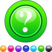 Help circle button. — Stock Vector