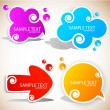Paper speech bubble — Stock Vector #6185235