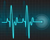 Electrocardiogram — ストックベクタ
