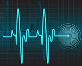 Electrocardiogram — Stock Vector