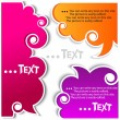 Colorful bubbles for speech — Vector de stock #6572008