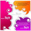 Colorful bubbles for speech — 图库矢量图片 #6572008