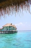 Water bungalow — Stock Photo