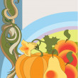 Autumn harvest — Stock Vector #5640641