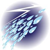 Thunderstorm — Stock Vector