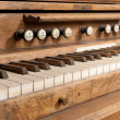 Old organ - Stock Photo