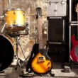 Royalty-Free Stock Photo: Stage with instruments