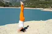 Yoga amut — Stok fotoğraf