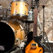 Instruments on stage — Stock Photo #5600252