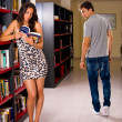 Sexy library — Stock Photo #5703542