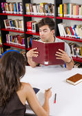 Library love — Stock Photo
