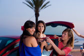 Party girls — Stock Photo